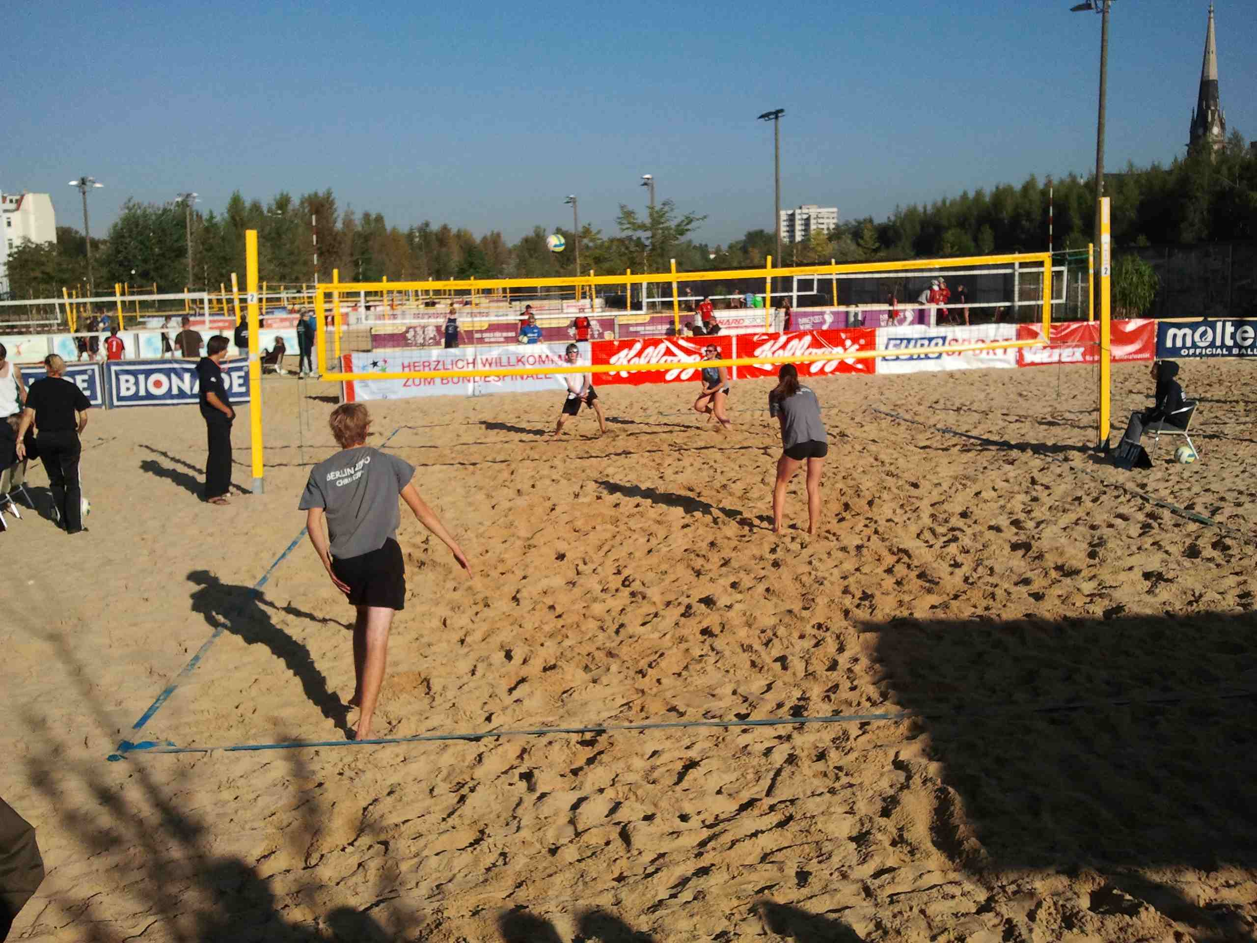 Beachvolleyball-Bundesfinale 2011-16