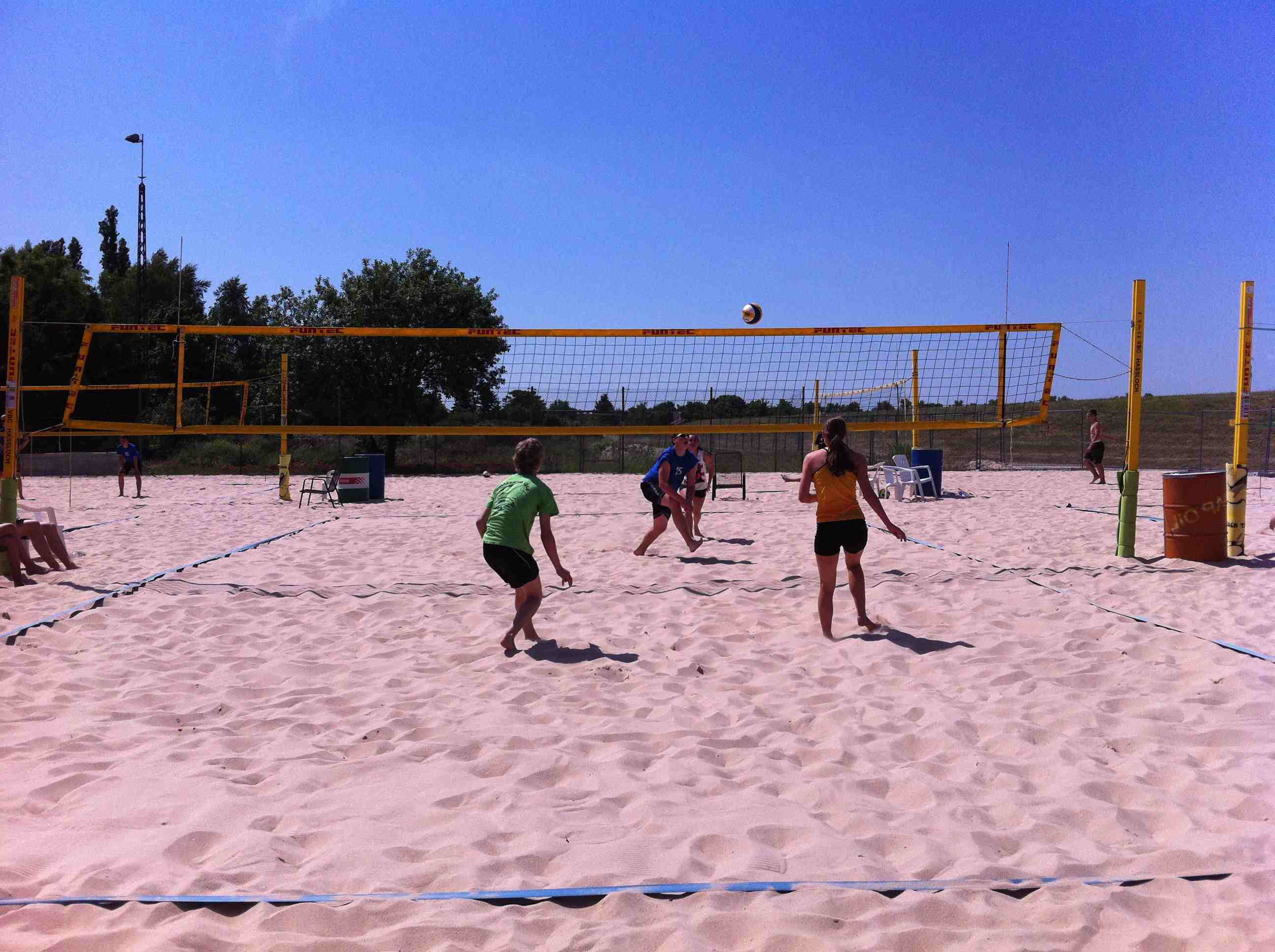 Beachvolleyball-Regionalfinale 2012-01