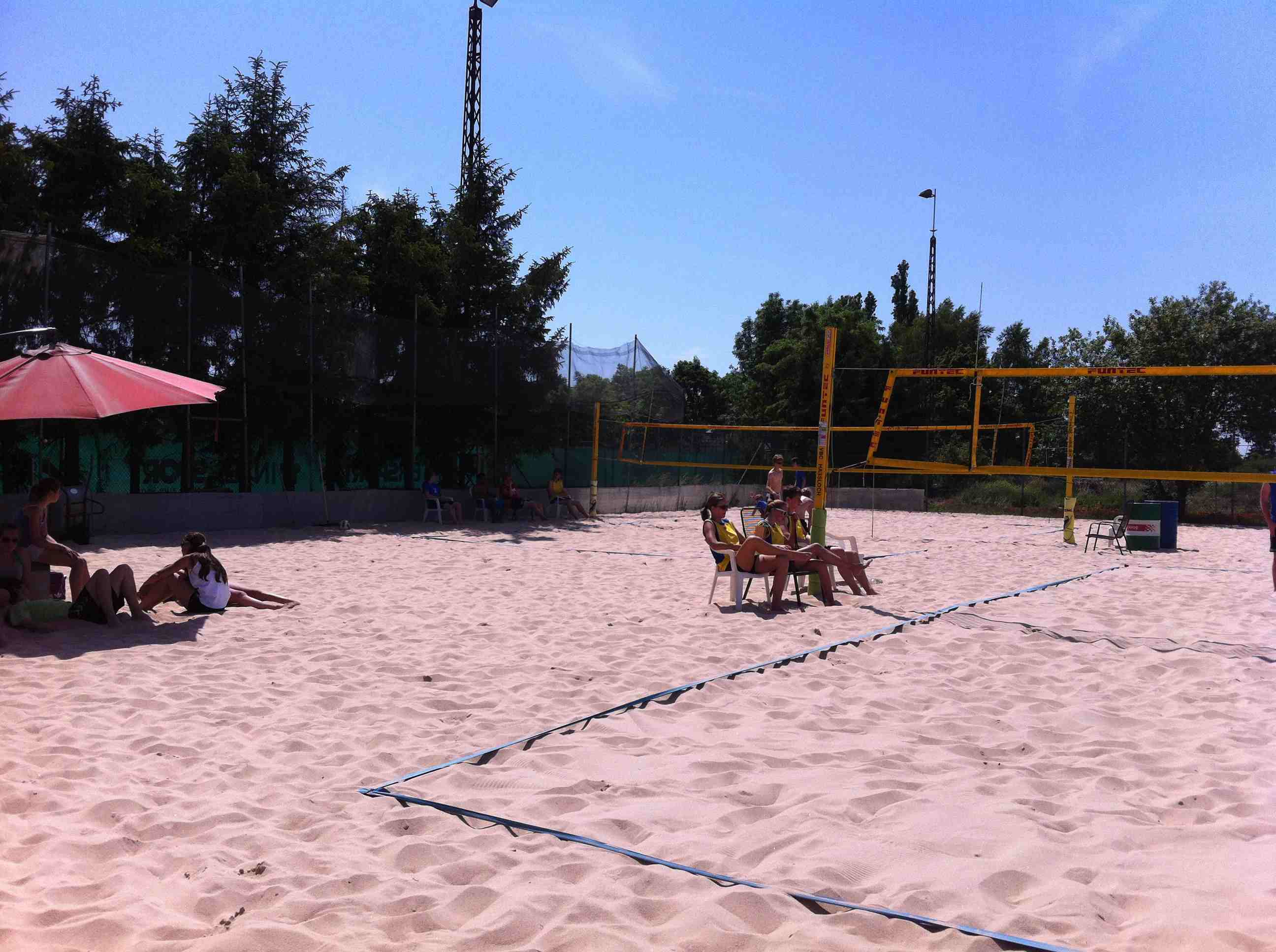 Beachvolleyball-Regionalfinale 2012-03