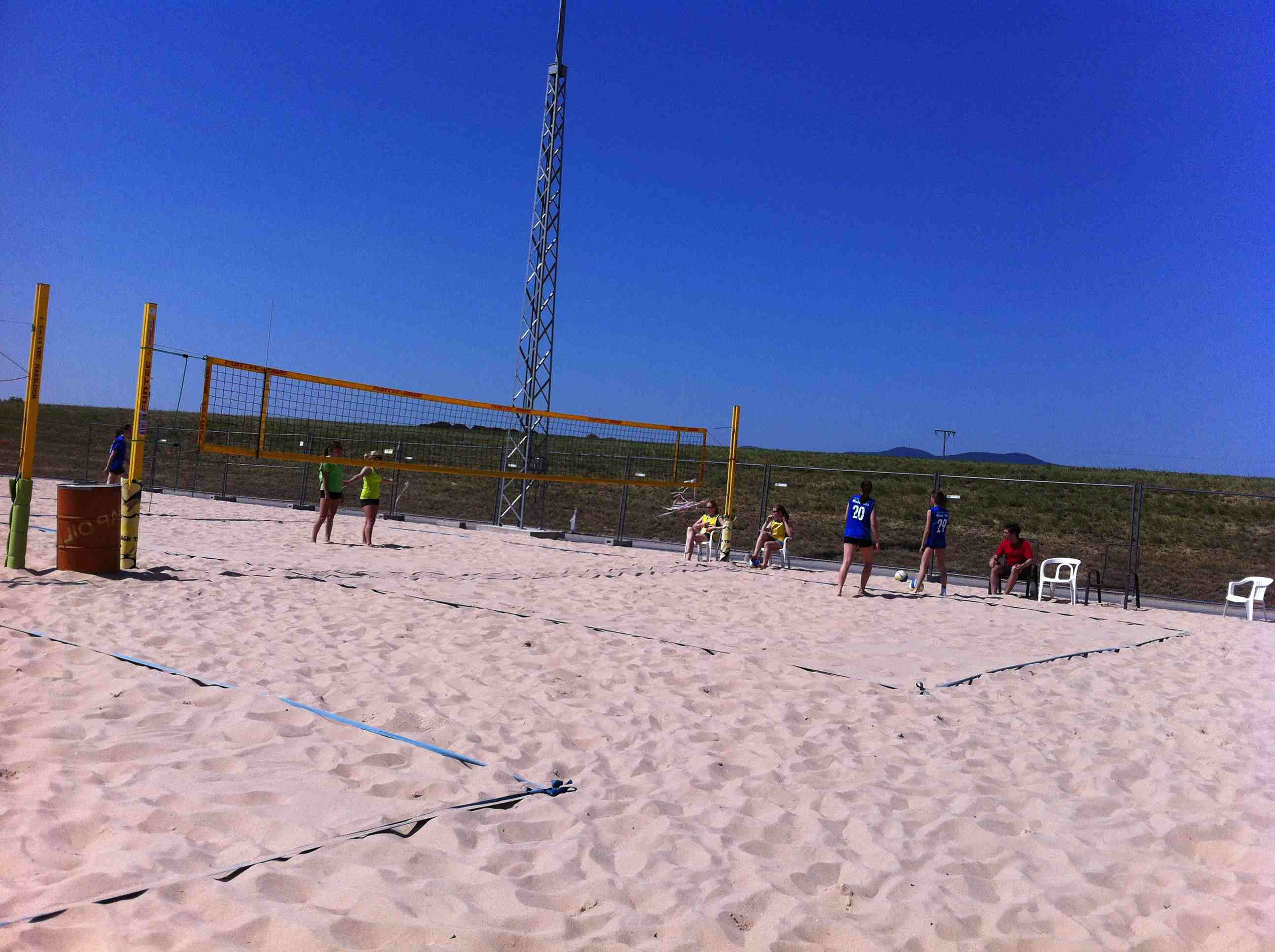 Beachvolleyball-Regionalfinale 2012-06