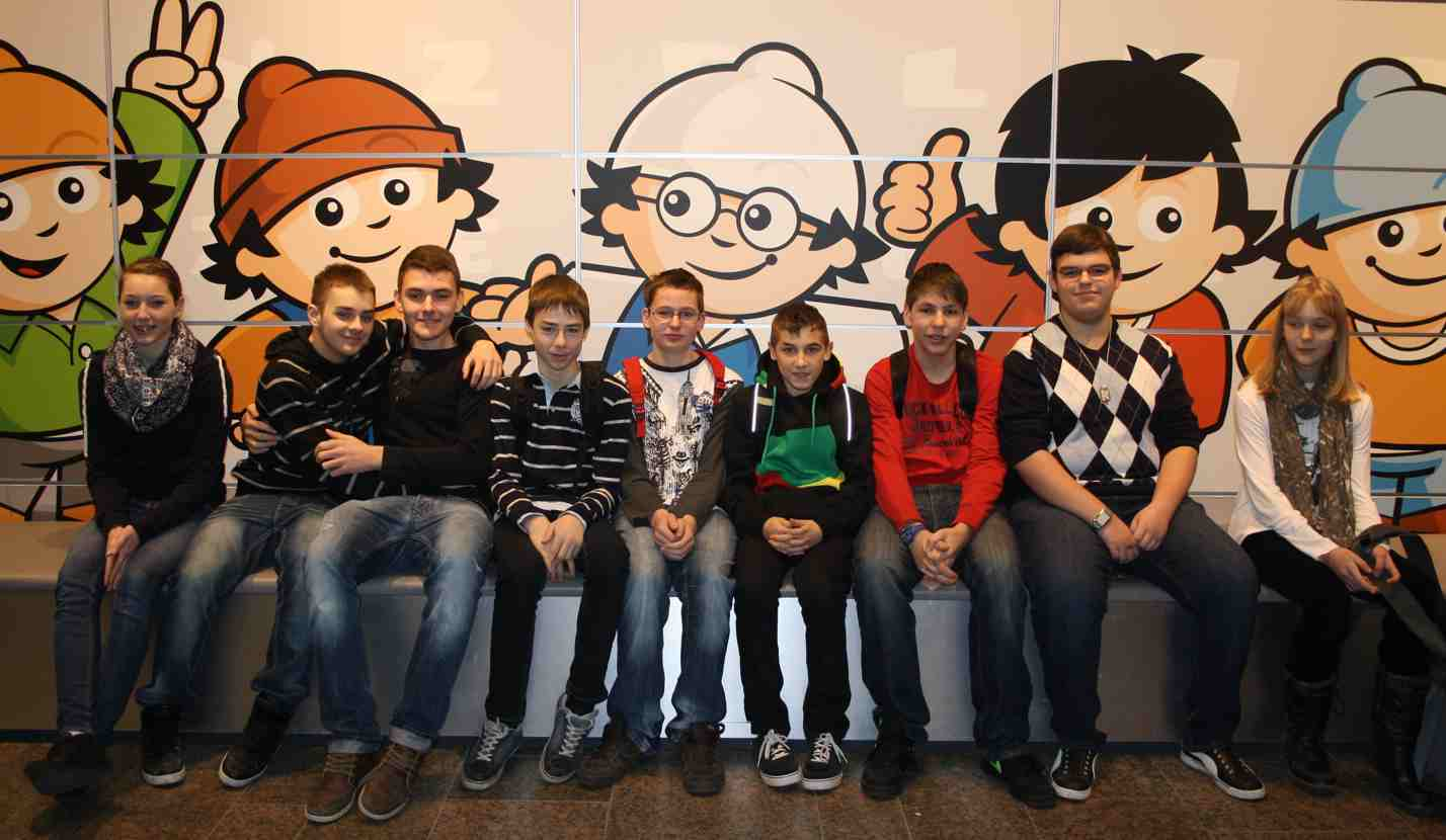 Medienscouts beim Safer Internet Day 2012