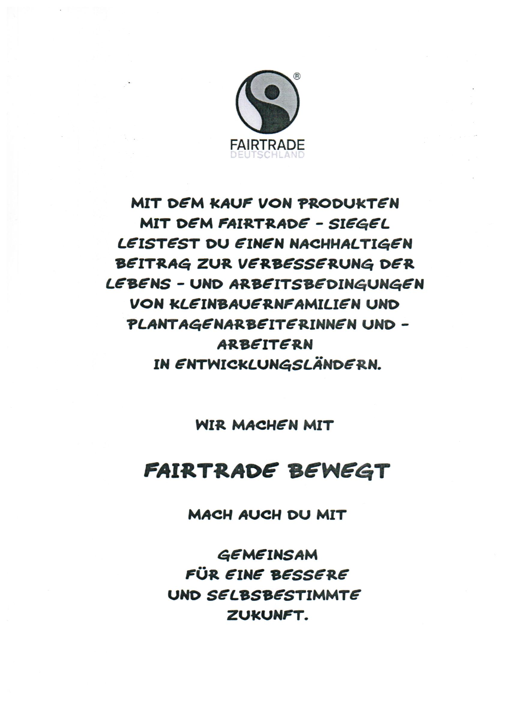 Fairtrade-Info