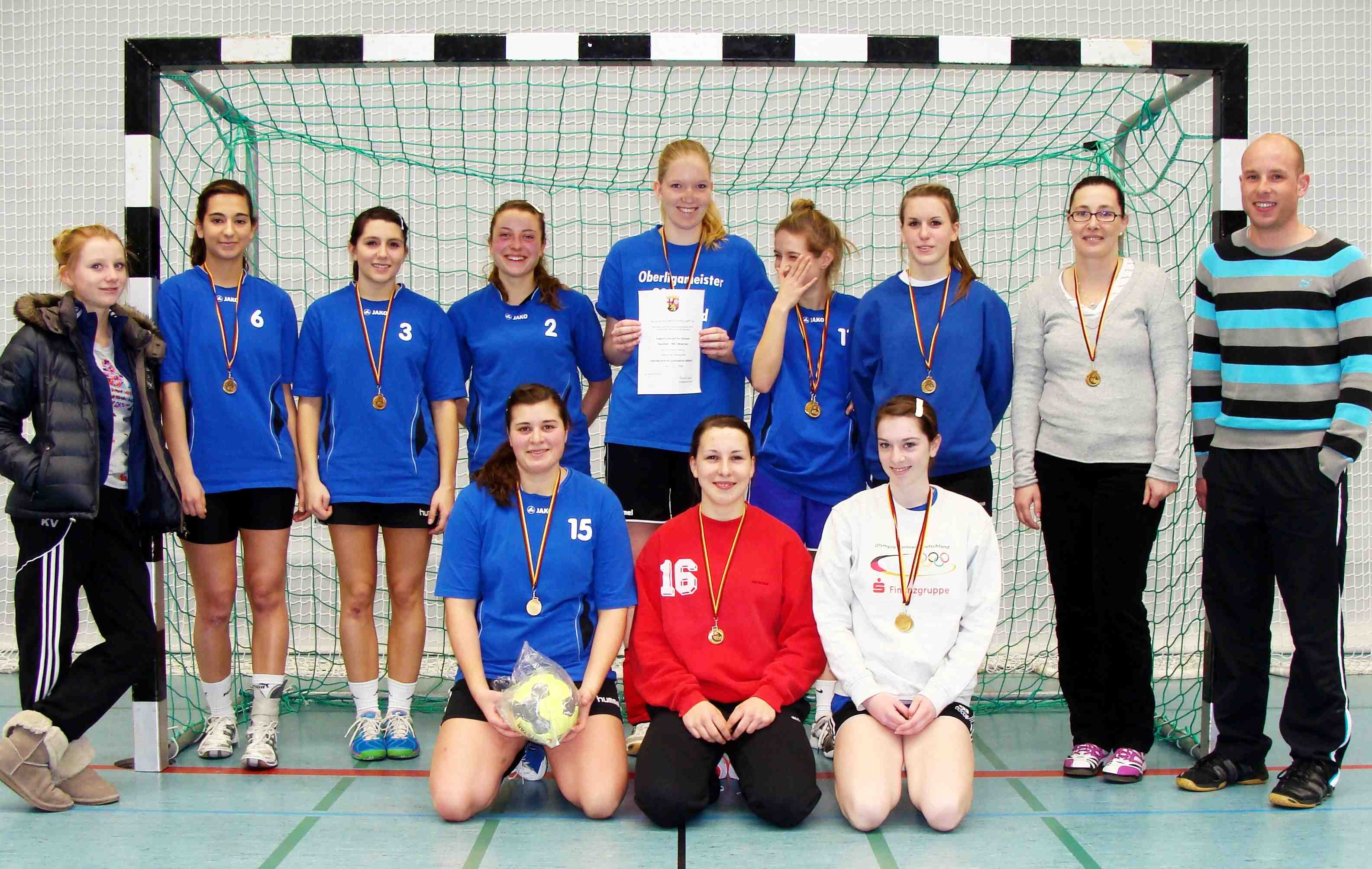 Handball Regionalfinale WK I in Worms am 7. Februar 2012