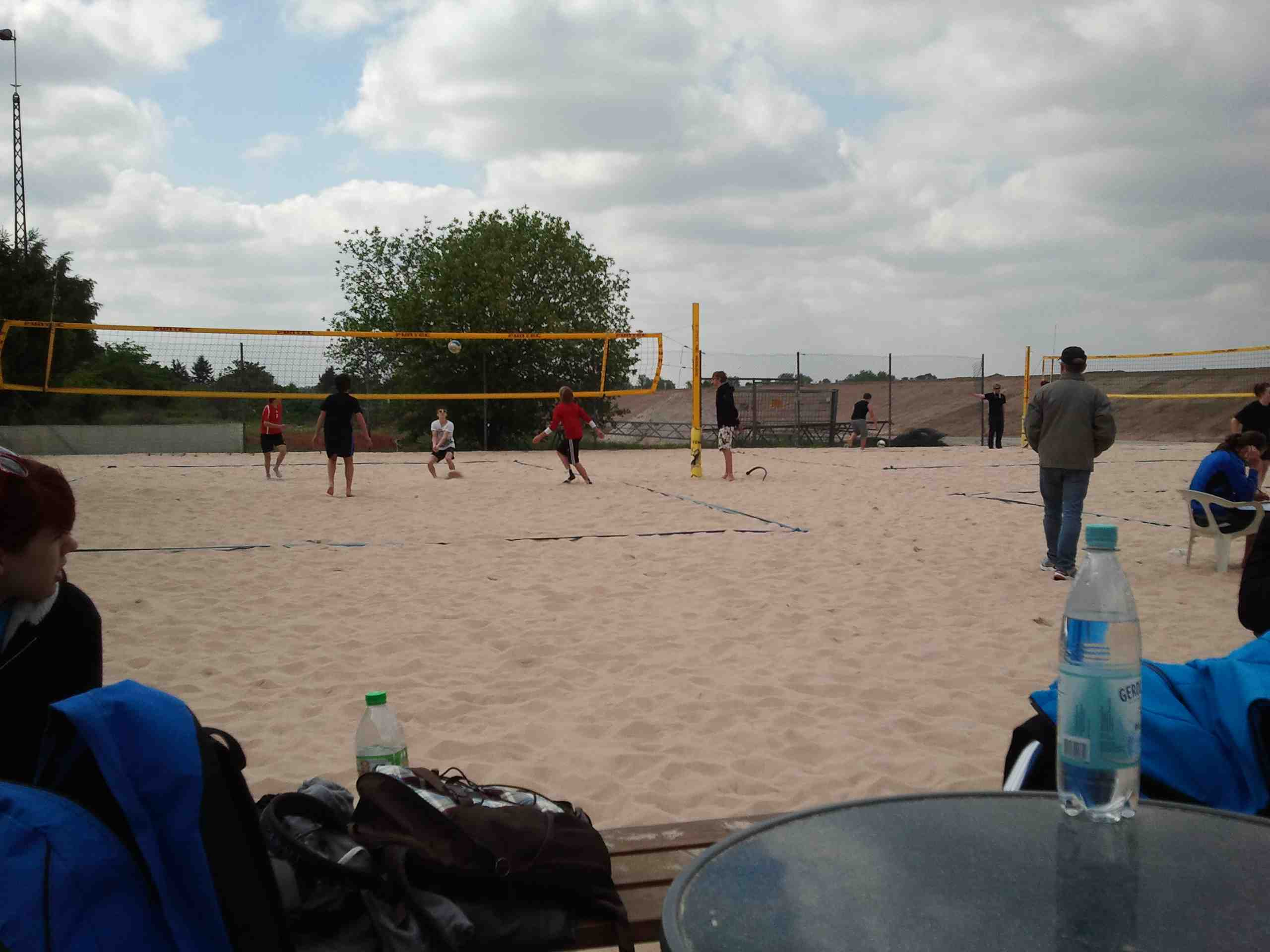 Beachvolleyball 04.05.2011 - 01
