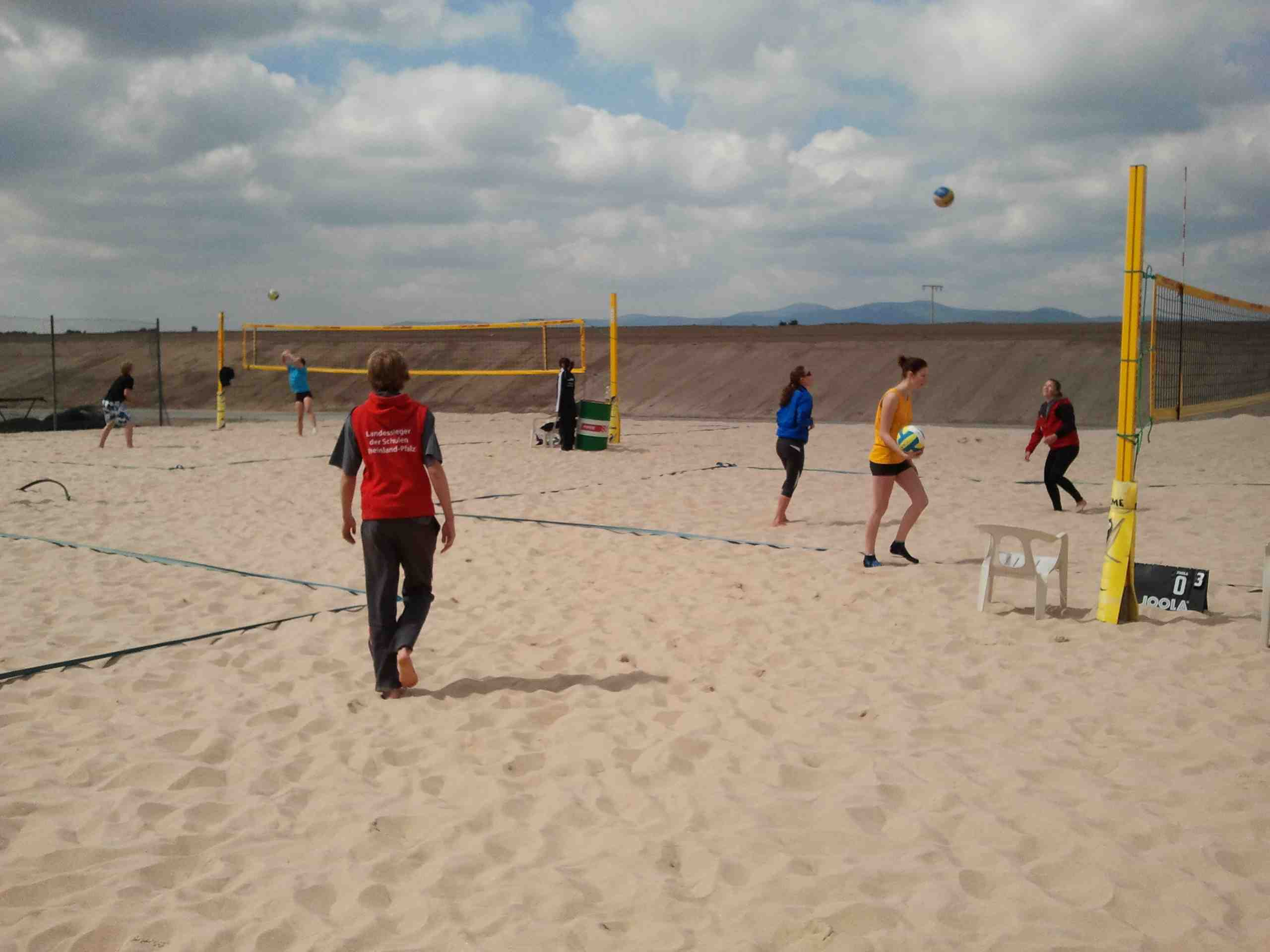 Beachvolleyball 04.05.2011 - 02