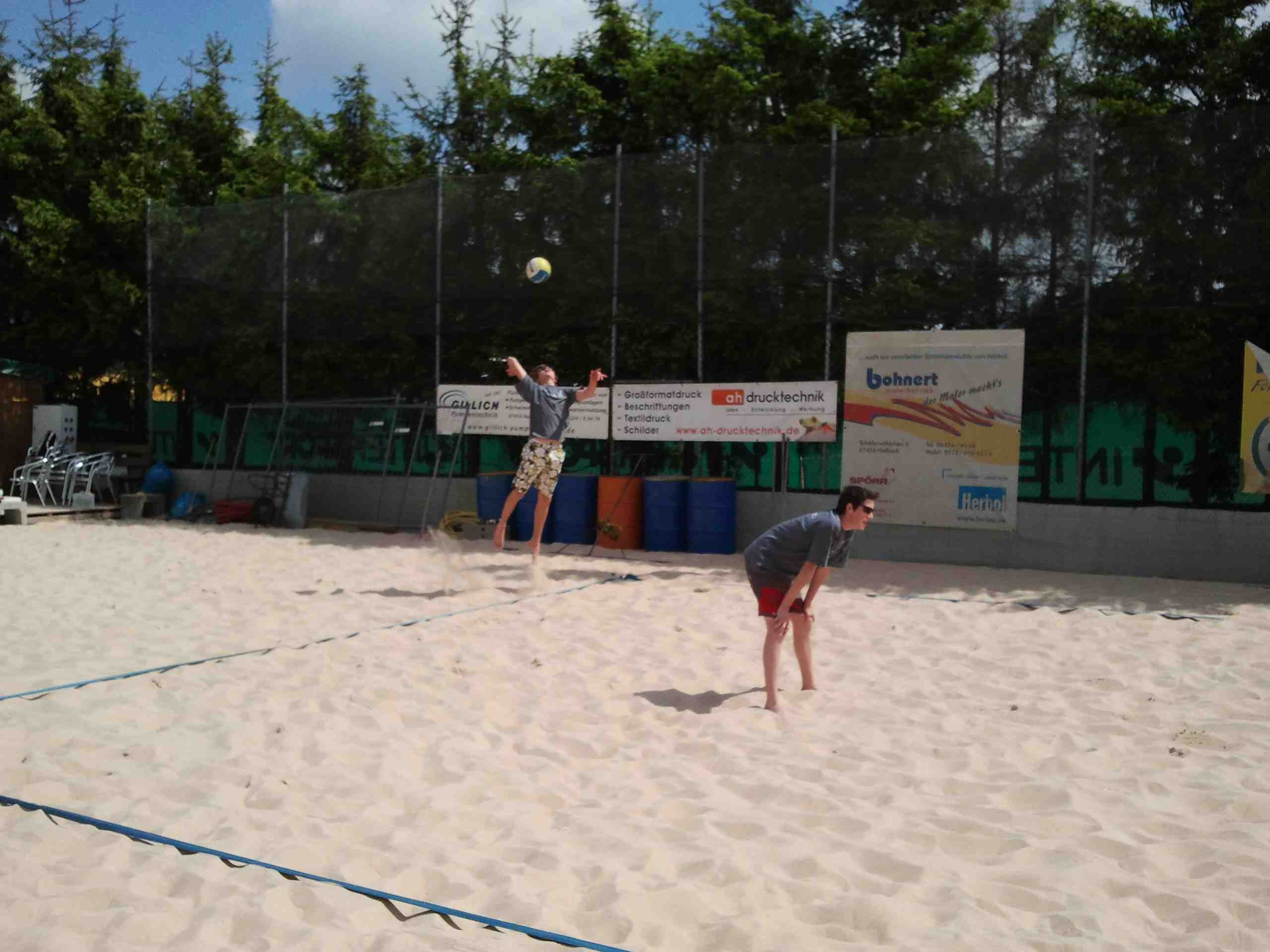 Beachvolleyball 04.05.2011 - 06