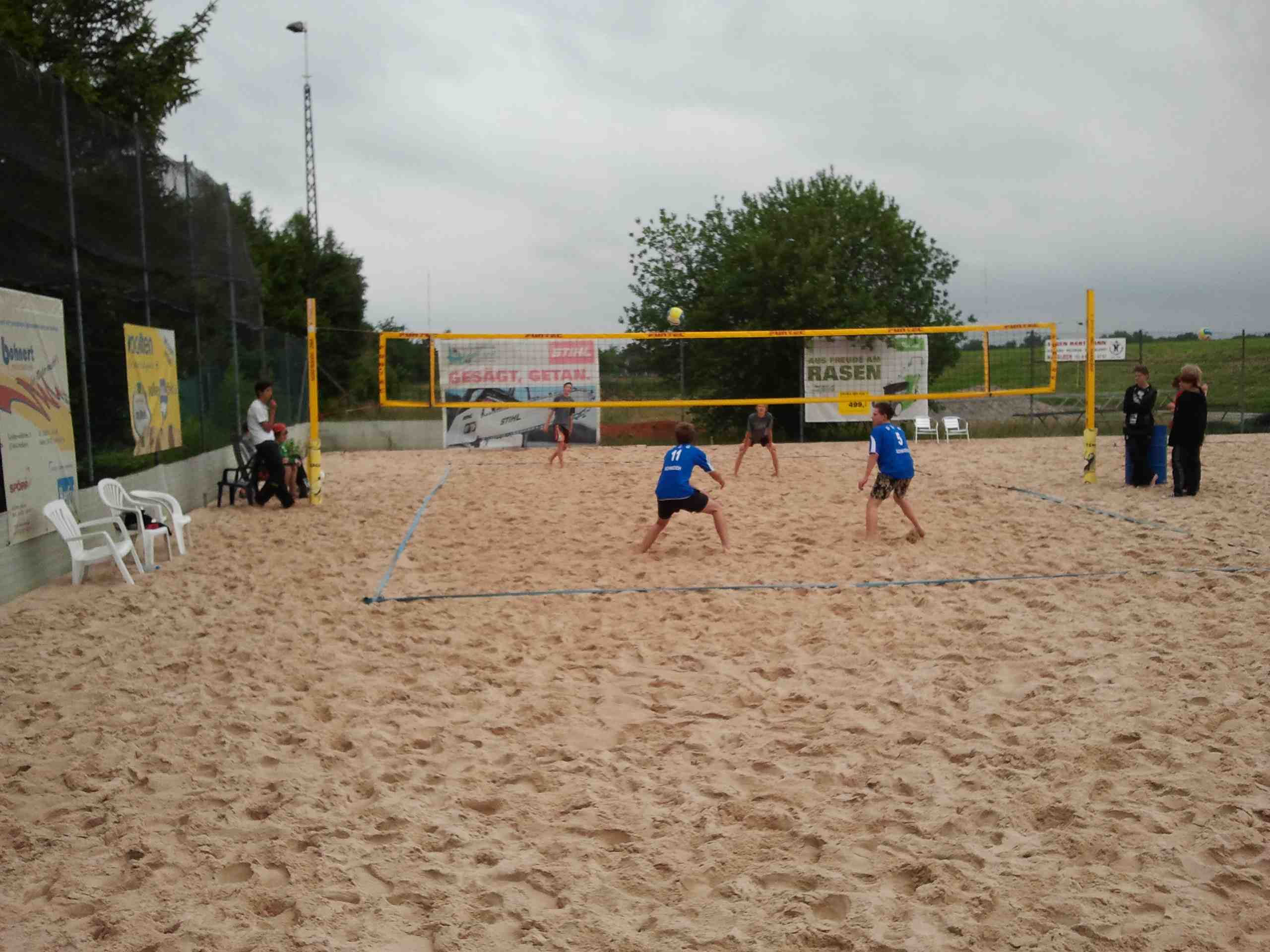 Beachvolleyball-Landesfinale 2011-03