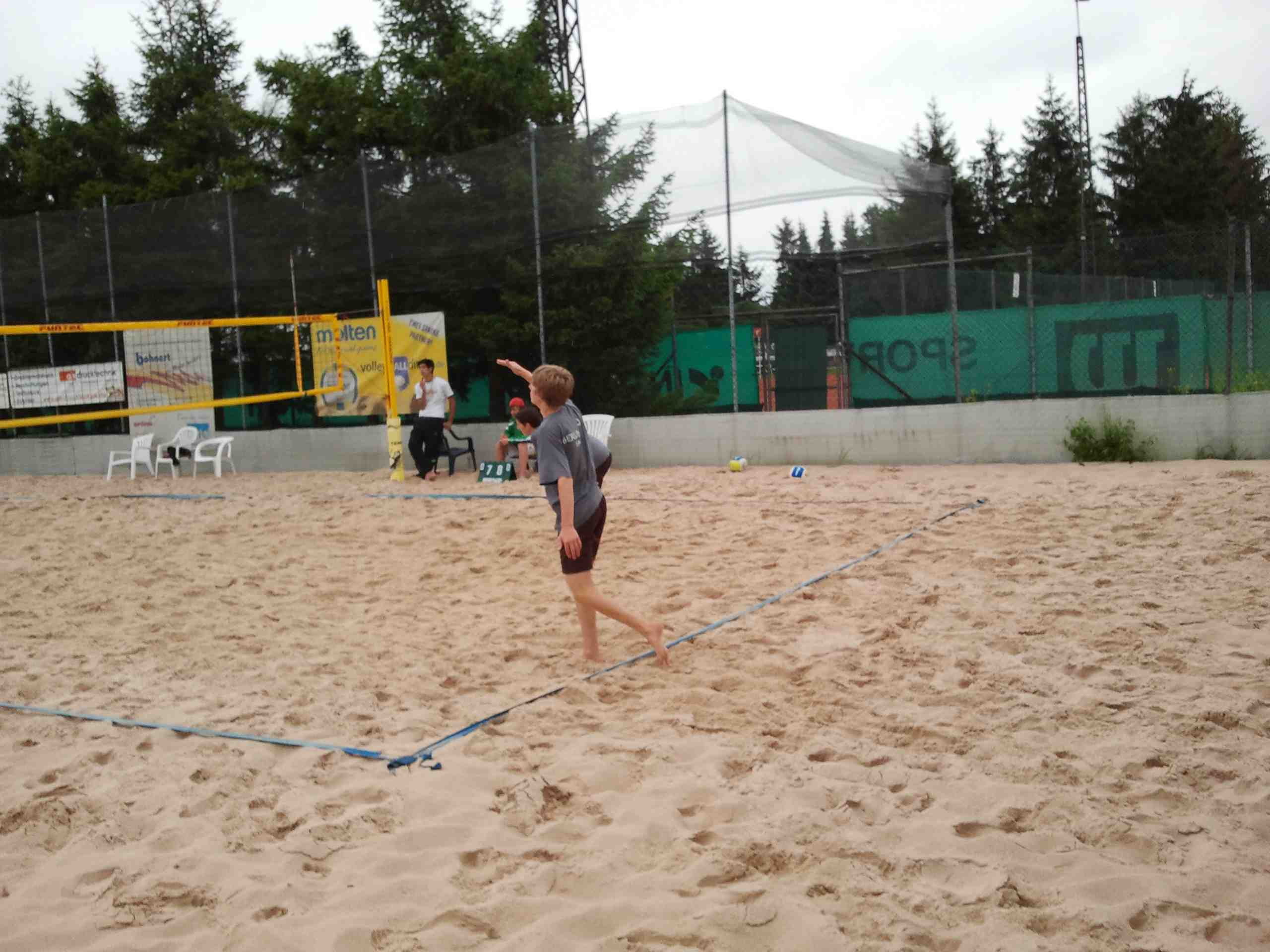 Beachvolleyball-Landesfinale 2011-14