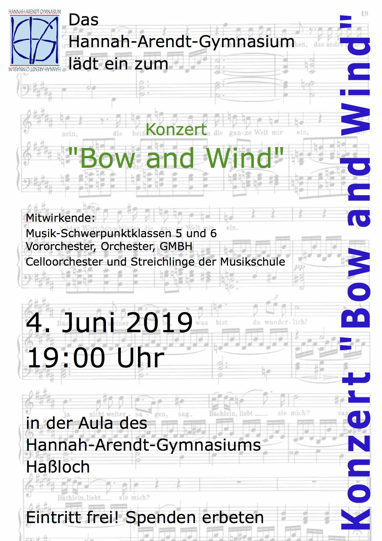 Plakat Bow and Wind II