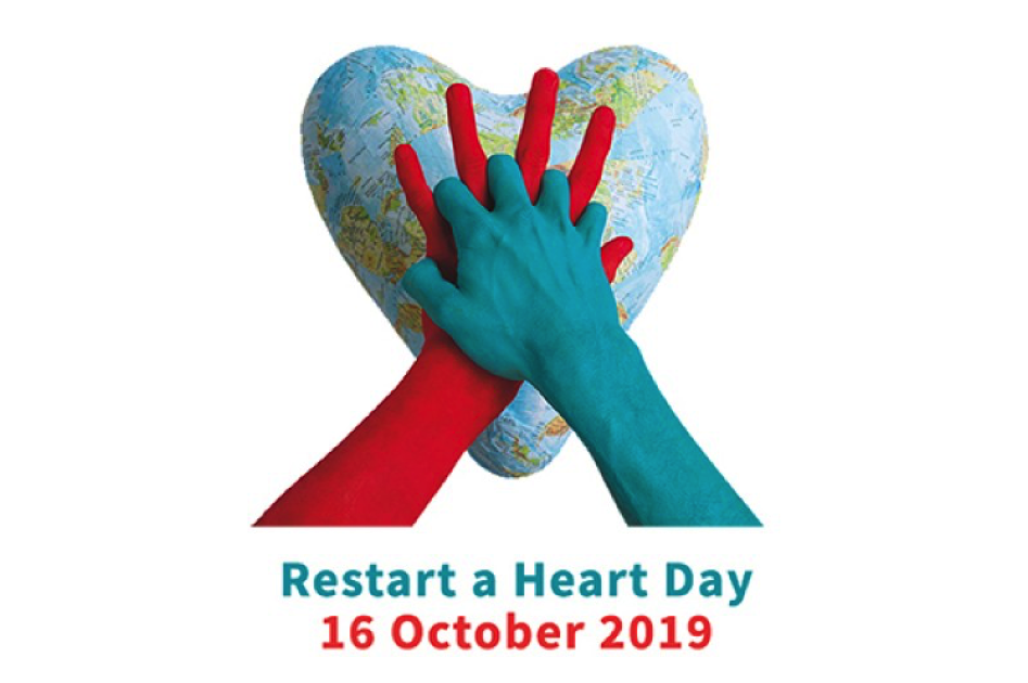 Logo restart a heart day