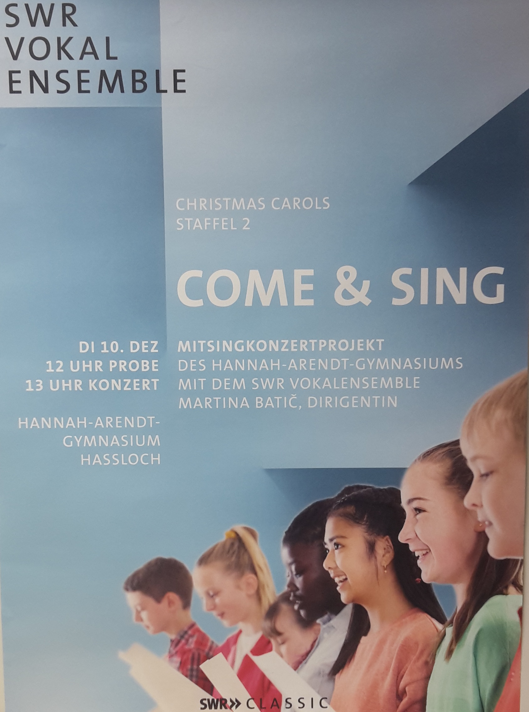 Plakat come and sing